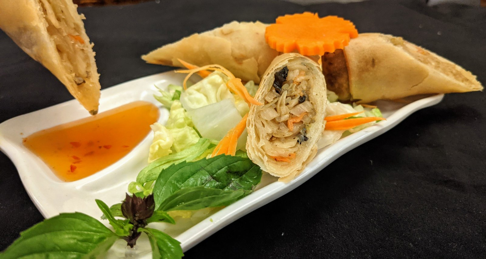 Vegetarian Spring Roll (Pho Pia Phak)